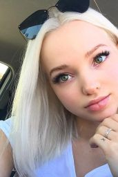 Dove Cameron – Social Media, October 2017