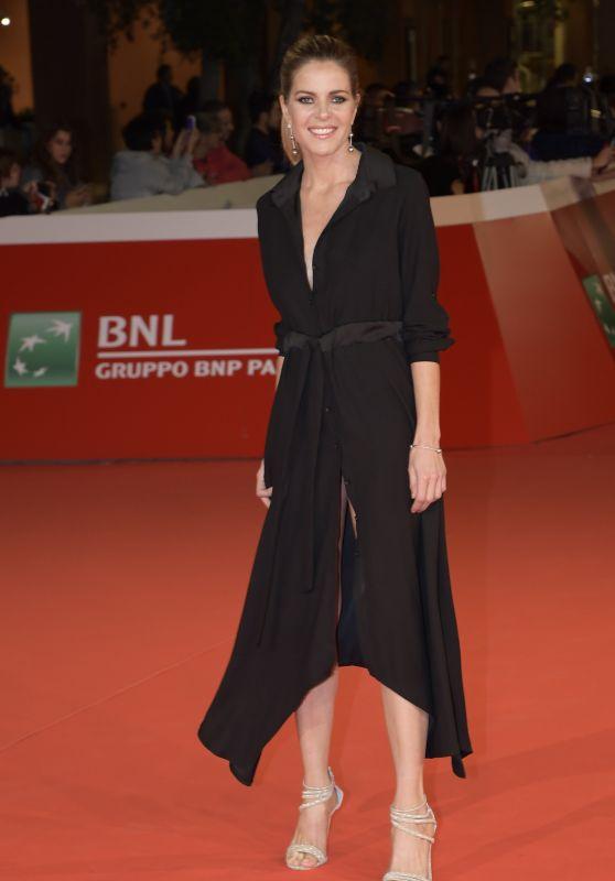 Elisabetta Pellini – Rome Film Festival Pre-Opening Red Carpet 10/25/2017