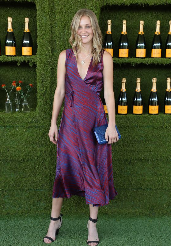 Elizabeth Gilpin – Veuve Cliquot Polo Classic 2017 in Los Angeles
