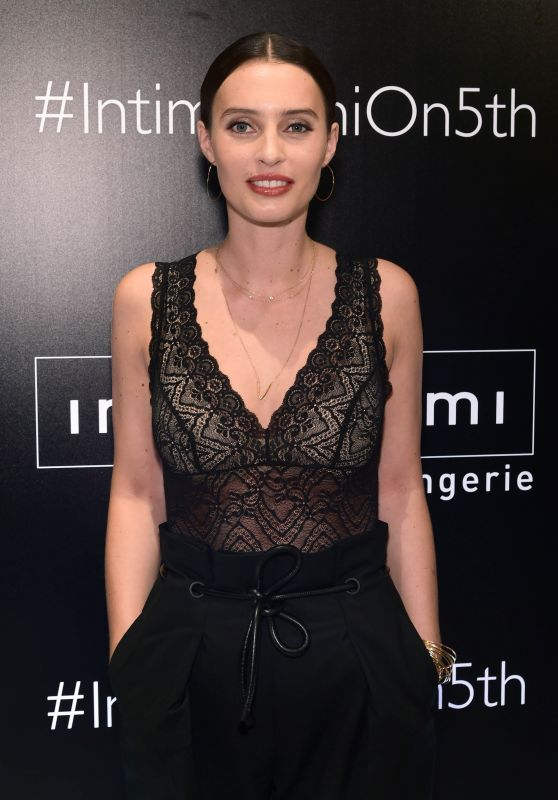 Ella Mills - Intimissimi Flagship Boutique Opening in NYC