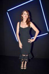 Elodie Frege - Emanuel Ungaro Fashion Show in Paris 09/29/2017