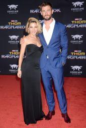 "Elsa Pataky and Chris Hemsworth – ""Thor: Ragnarok"" Premiere in Los Angeles 10/10/2017"