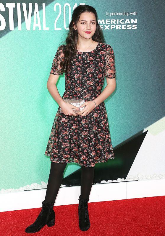 "Emily Carey – ""Thoroughbreds"" Premiere at BFI London Film Festival 10/09/2017"