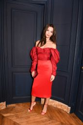 """Emily Ratajkowski - CFDA and Vogue Fashion Fund """"Americans in Paris"""" Cocktail Party in Paris 09/30/2017"""