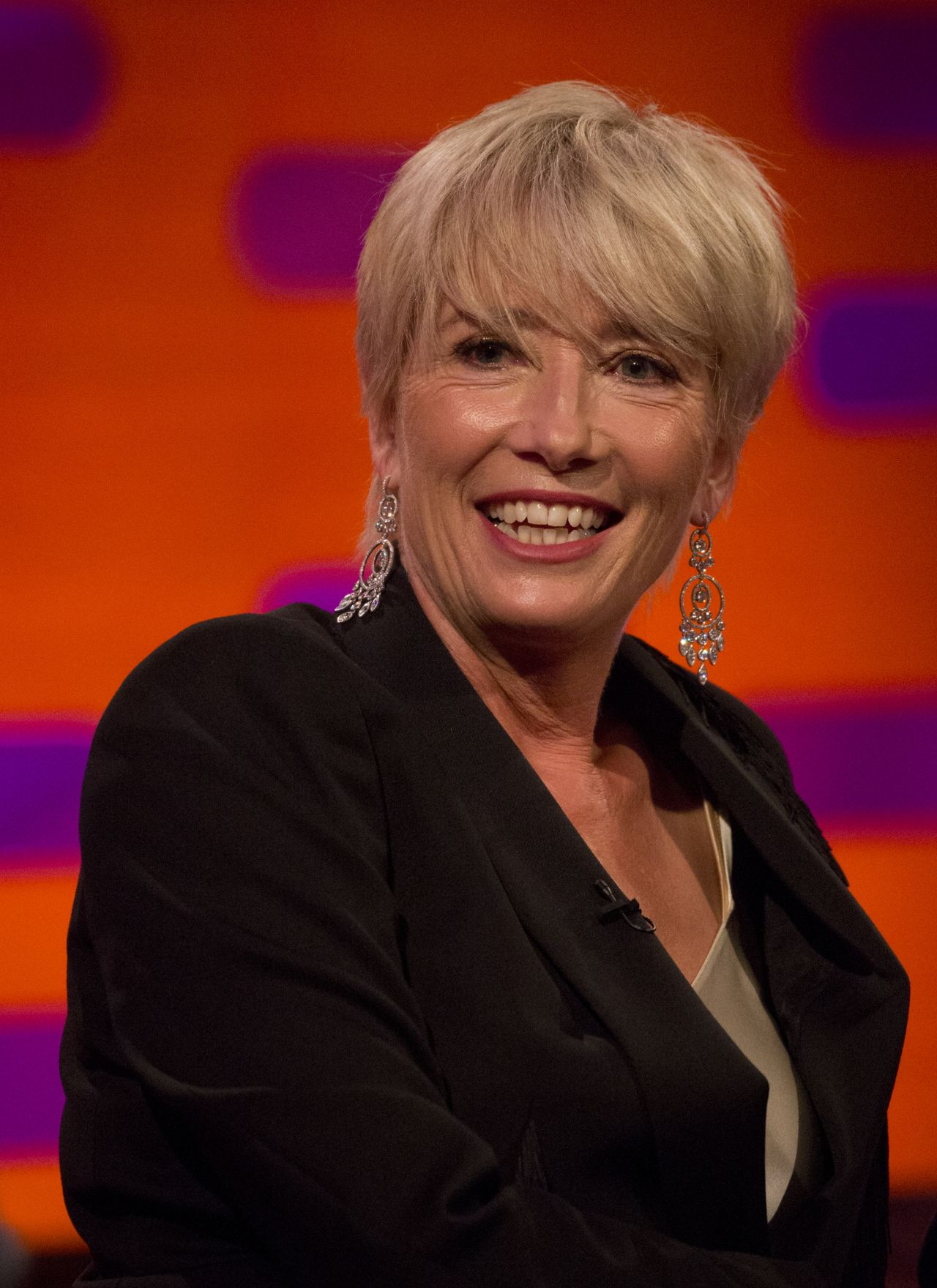 19 Emma Thompson Hairstyles Ranked  HuffPost