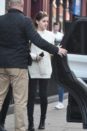 Emma Watson - With a Friend in Soho in London 10/21/2017