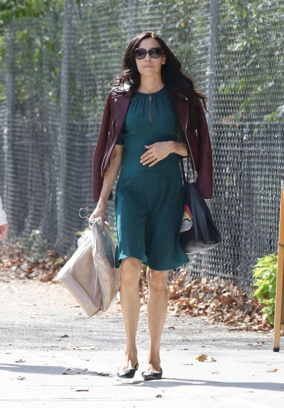 Famke Janssen - Out in New York City 10/05/2017