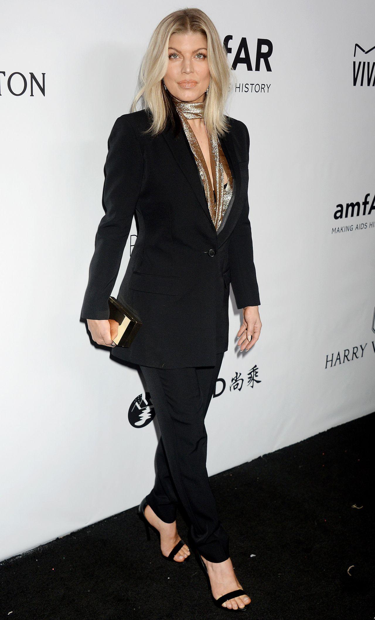 Fergie – amfAR Gala 2017 in Los Angeles