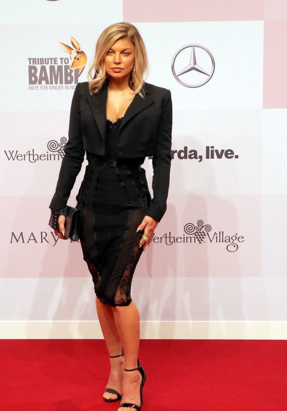 Fergie - Ttribute to Bambi Charity in Berlin 10/05/2017