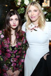 Frances Bean Cobain & Courtney Love – Maria Carla Boscono Party, PFW in Paris 09/29/2017