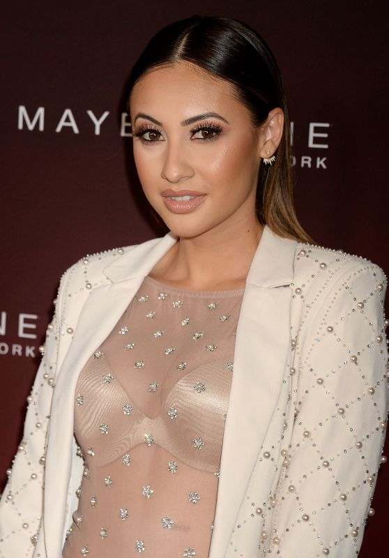 Francia Raisa on Red Carpet – PEOPLE's Ones to Watch Party in Los Angeles 10/04/2017