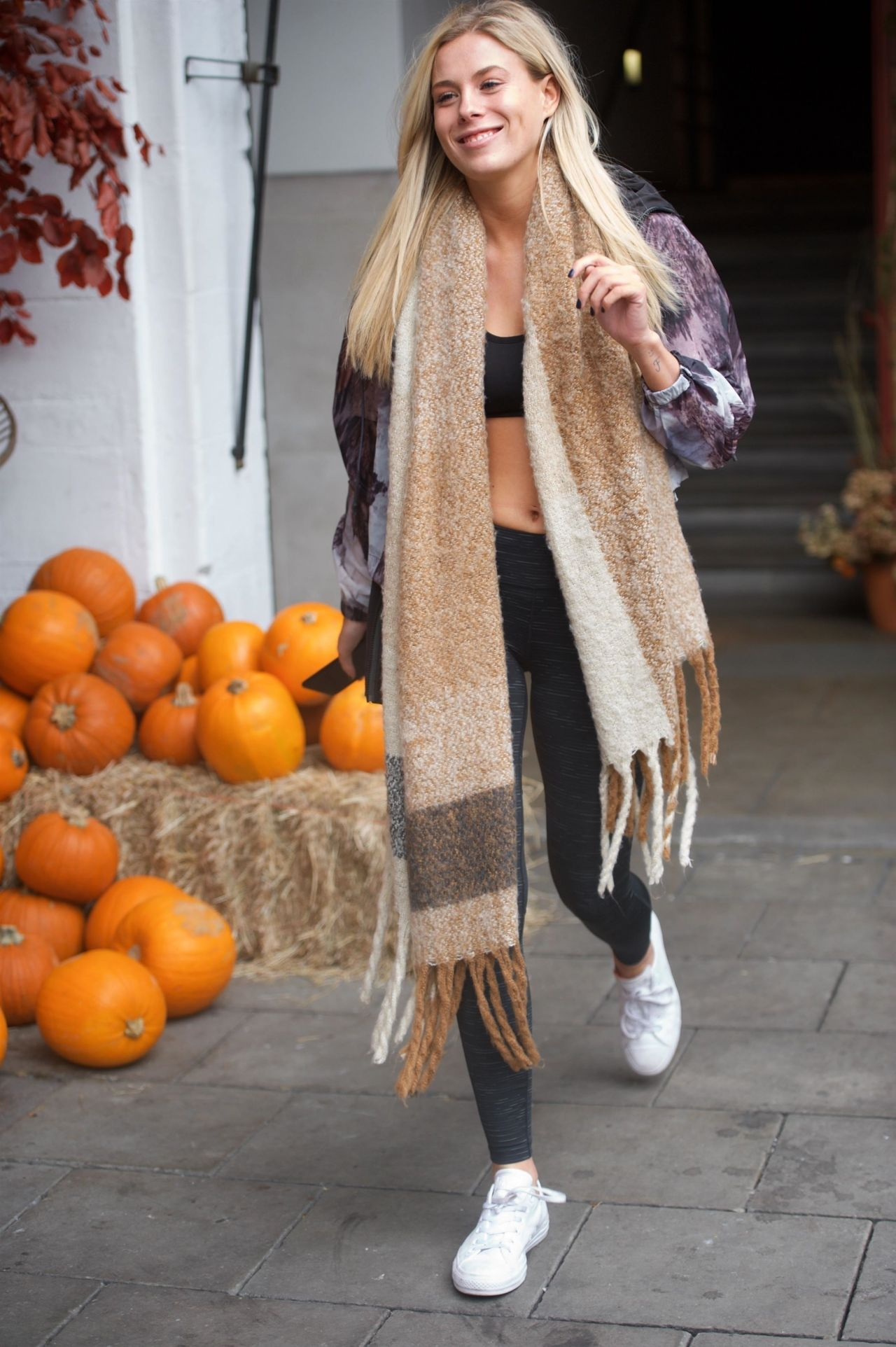 Frankie Gaff Street Style - London 10/28/2017