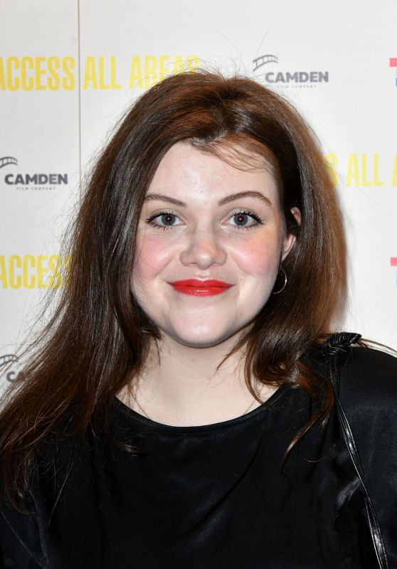 "Georgie Henley - ""Access All Areas"" VIP Gala Screening in London"