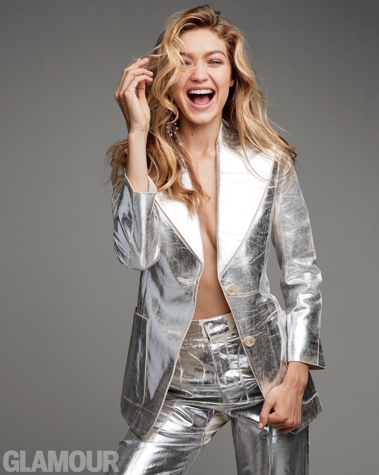 Gigi Hadid - Glamour Magazine December 2017 Photos