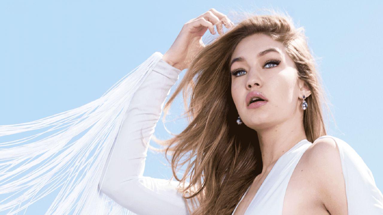 Gigi Hadid Maybelline Photoshoots 2017