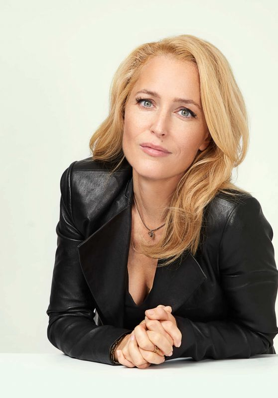 Gillian Anderson - Vulture Portraits at the 2017 NYCC