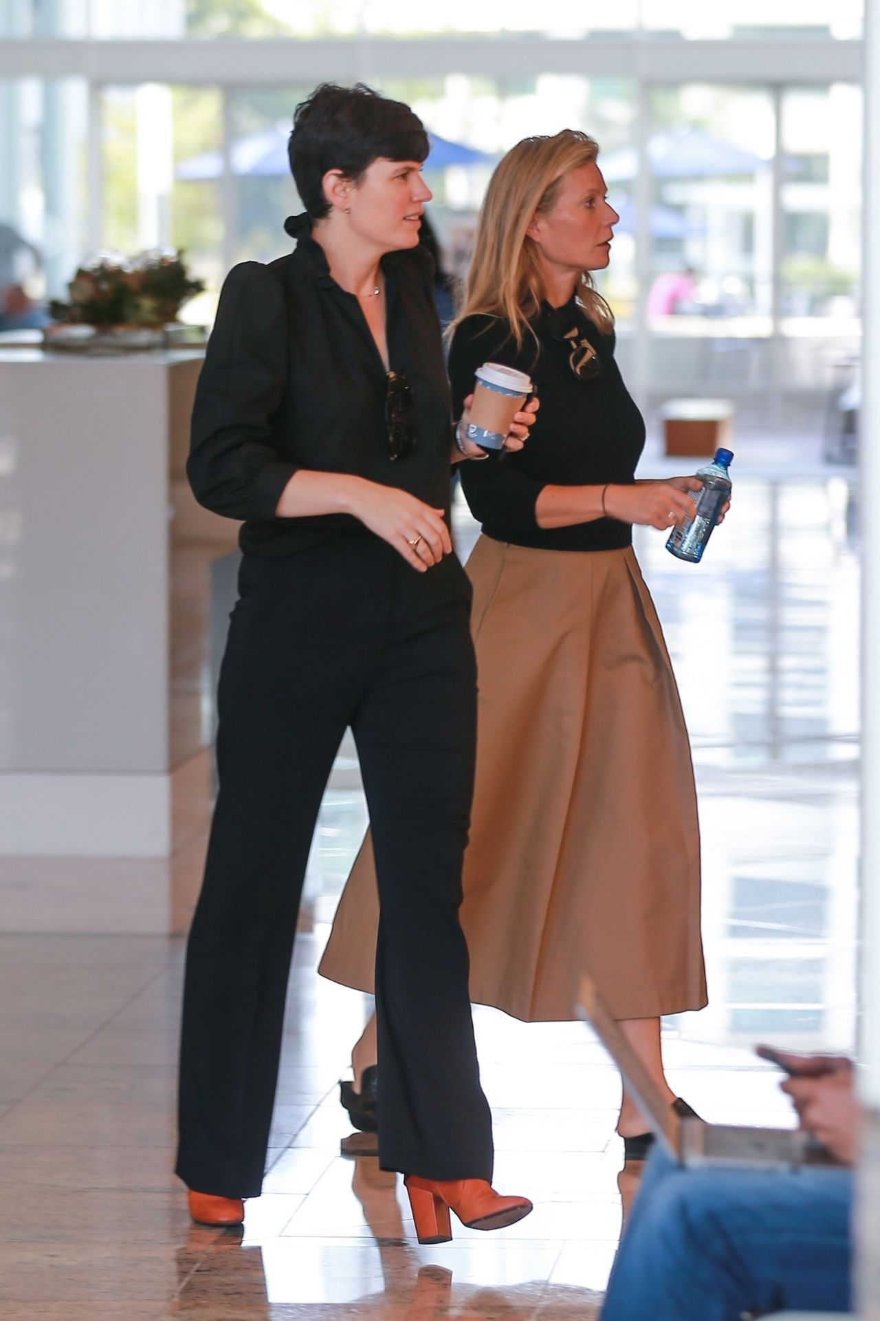 Gwyneth Paltrow - Out in Santa Monica 10/12/2017