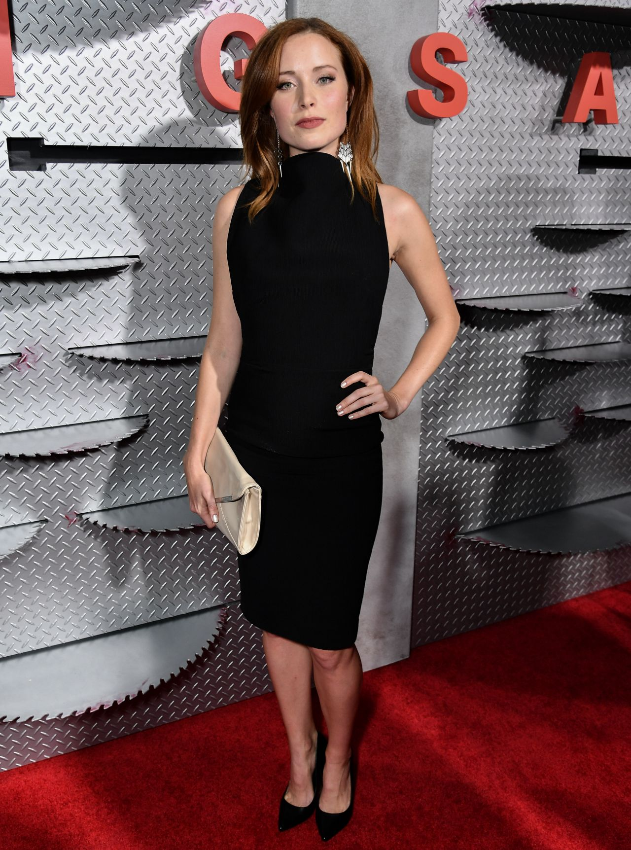 Hannah Emily Anderson Jigsaw Red Carpet In Los Angeles