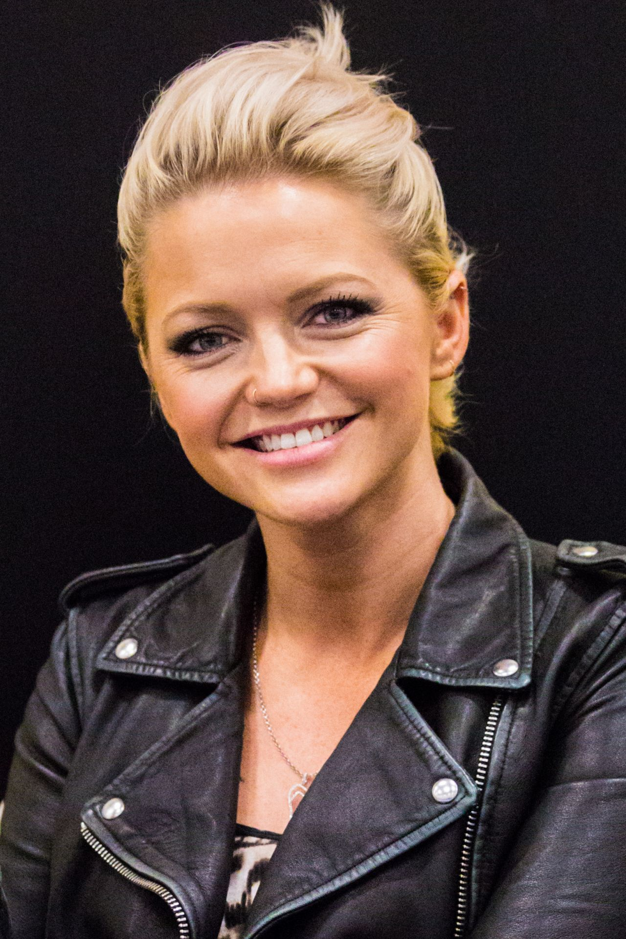 Hannah Spearritt At The German Comic Con In Berlin