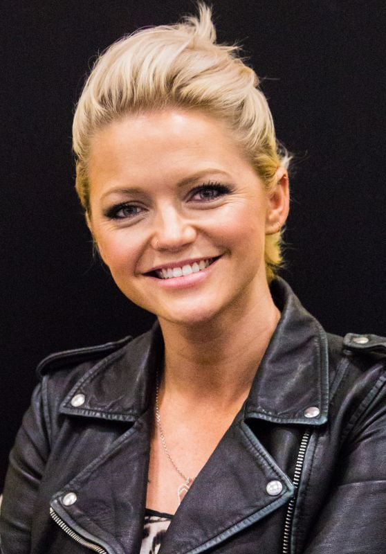 Hannah Spearritt at the German Comic Con in Berlin 10/01/2017