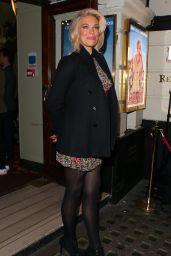 "Hannah Waddingham – ""Annie"" Press Night in London 10/02/2017"