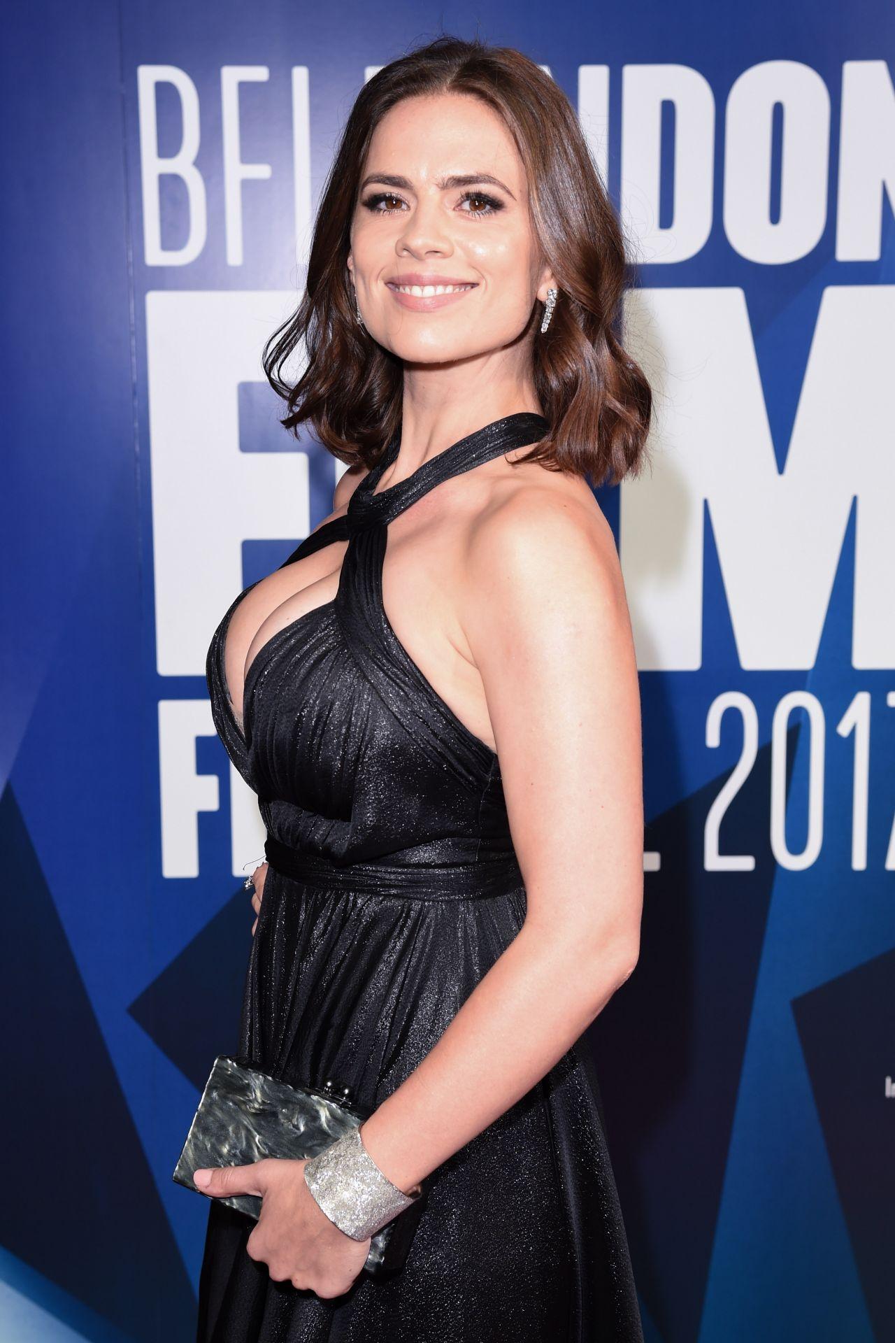 Hayley Atwell - 61st BFI London Film Festival Awards 10/14/2017