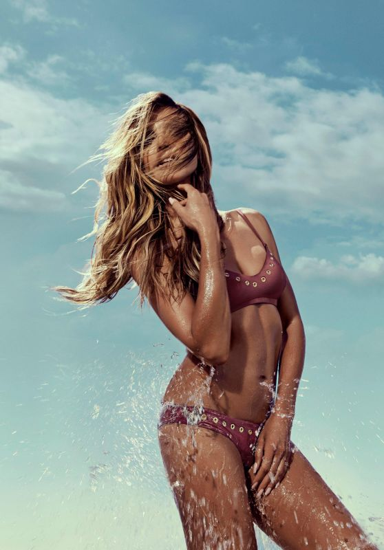 Heidi Klum Swimwear Photoshoot, October 2017