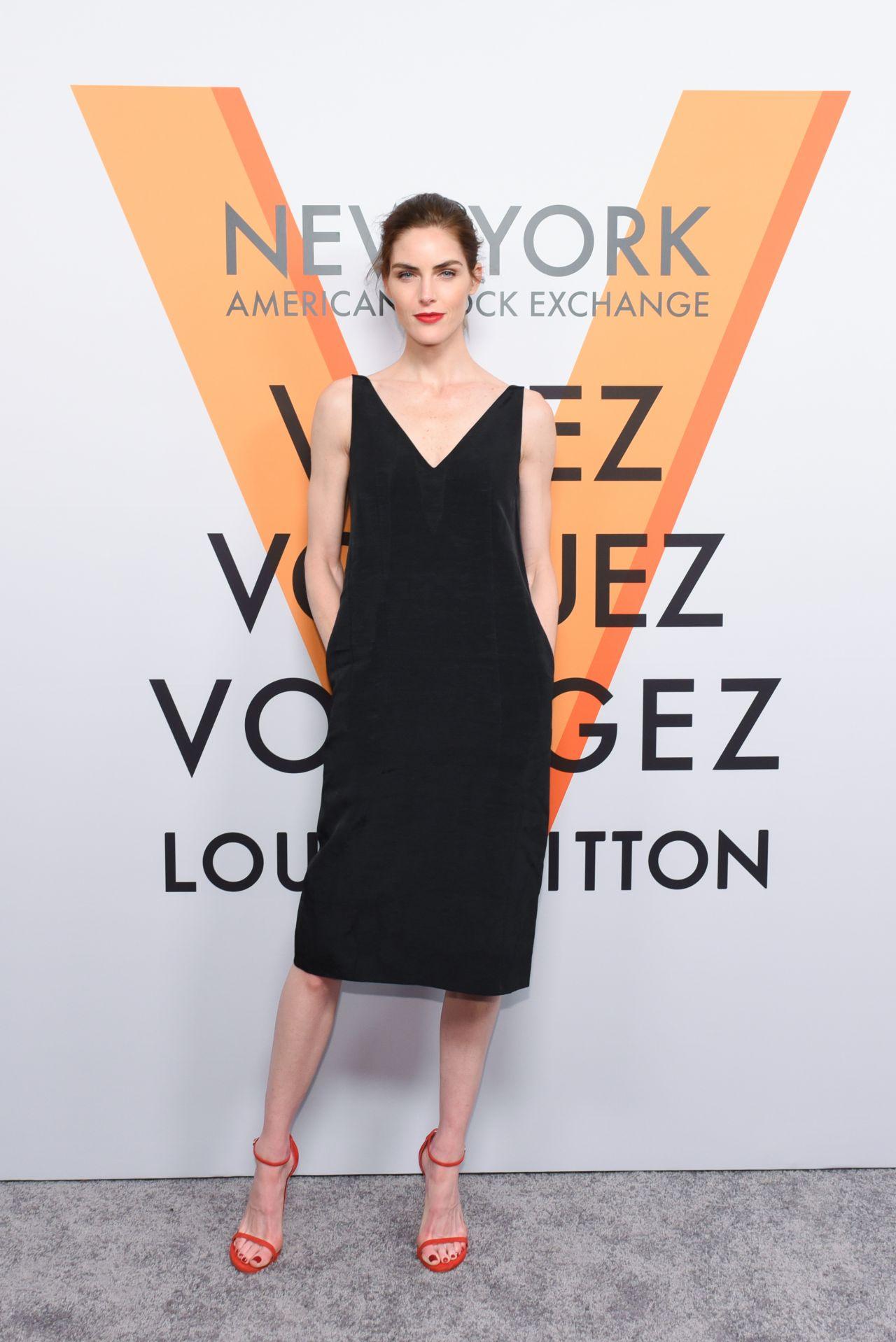 Hilary Rhoda – Volez, Voguez, Voyagez: Louis Vuitton Exhibition Opening in NYC