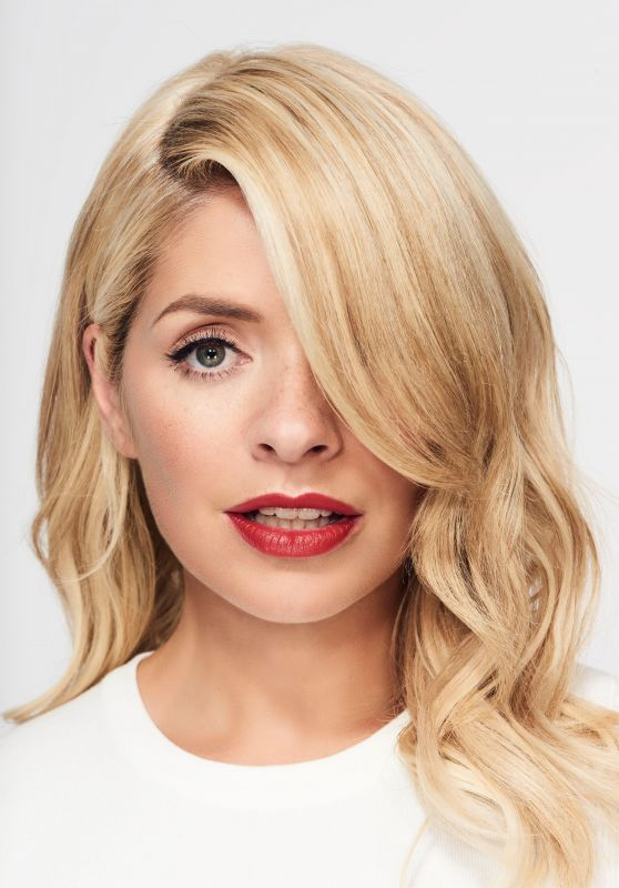 Holly Willoughby - Diet Coke Campaign Photoshoot October 2017