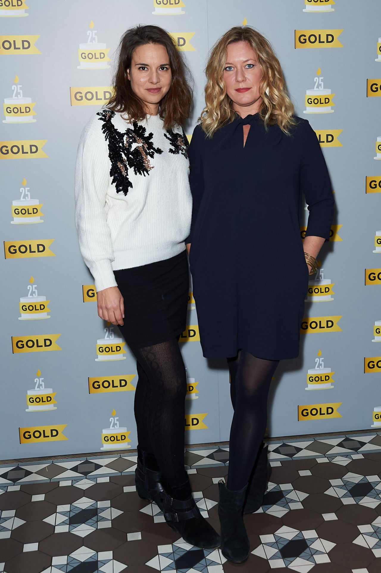 Ingrtid Oliver at UKTV's Comedy Channel Gold Party in London