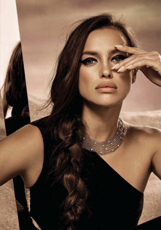 Irina Shayk - Vogue Mexico October 2017