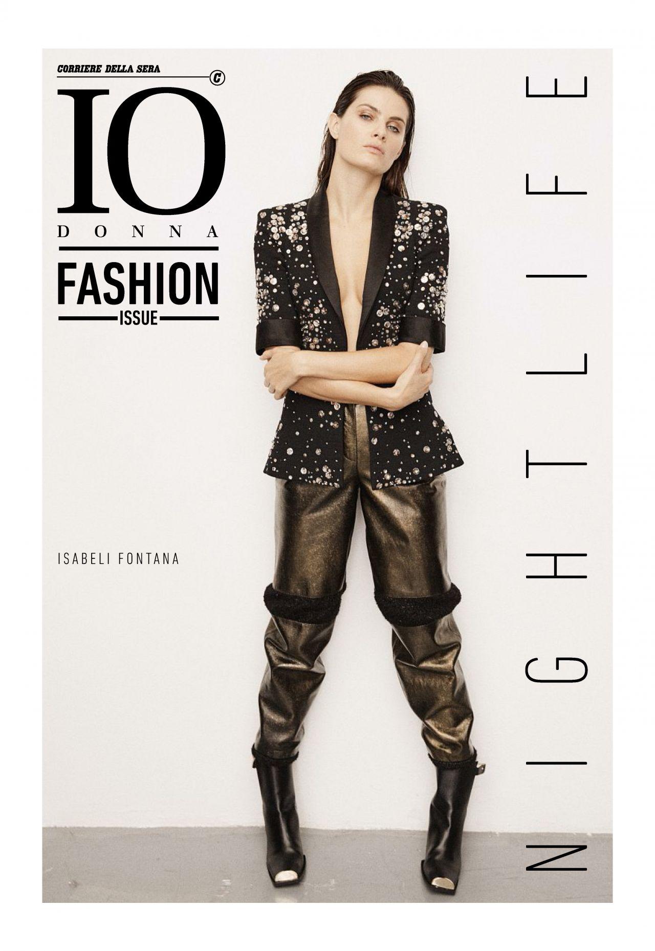 Fashion October 2016: Io Donna Fashion Issue, October 27th 2017