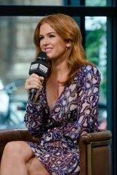 Isla Fisher - Build Studios in New York City 10/03/2017
