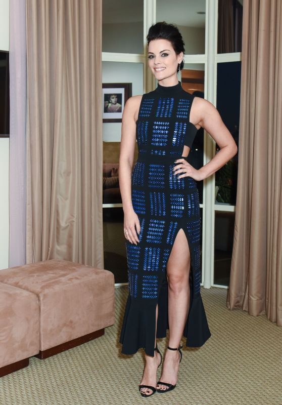 Jaimie Alexander – Valentino and InStyle Cocktail Party in Los Angeles