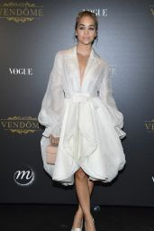 Jasmine Sanders – Vogue Party at PFW in Paris 10/01/2017