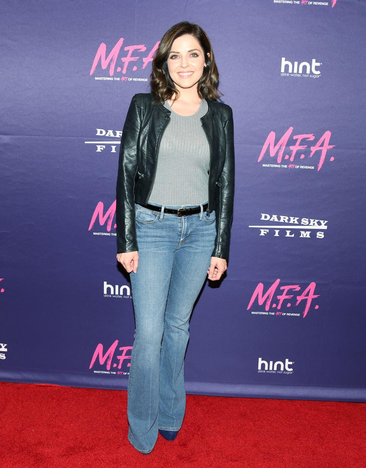 """Jen Lilley – """"M.F.A."""" Screening in Los Angeles 10/02/2017"""
