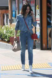 Jenna Dewan in Double Denim - Los Angeles 10/17/2017