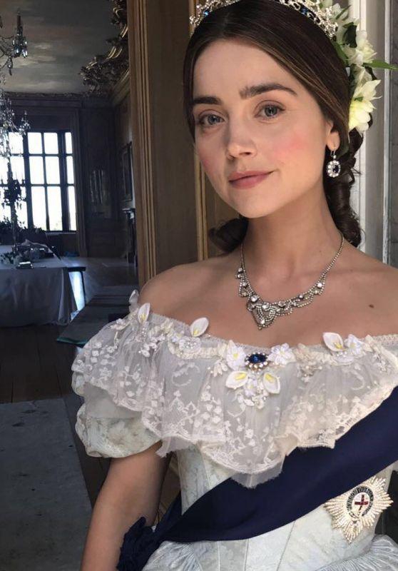 Jenna-Louise Coleman – Social Media Pics 10/04/2017