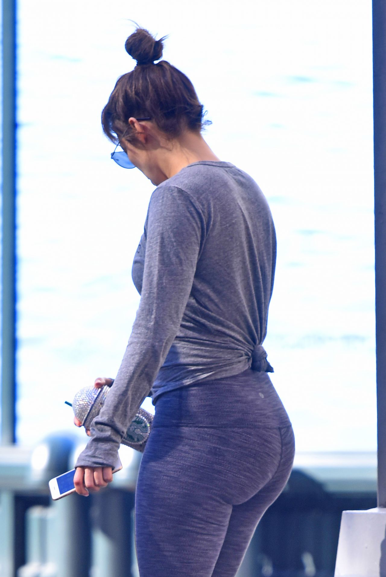 Jennifer Lopez After Working Out At The Gym New York
