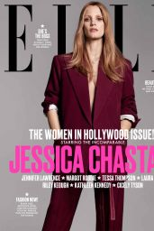 Jessica Chastain - ELLE US Magazine, Women in Hollywood Issue, November 2017