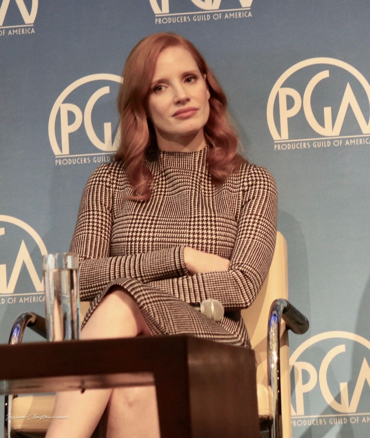 "Jessica Chastain - ""Produced By"" Press Conference in NY 10/28/2017"