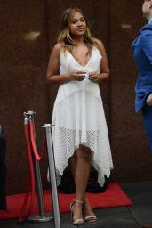 "Jessica Mauboy - Promotes ""The Secret daughter"" in Sydney 10/12/2017"