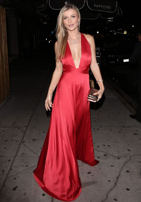 Joanna Krupa Night Out Style - Nice Guy in Los Angeles 10/16/2017