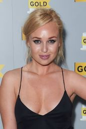 Jorgie Porter at UKTV's Comedy Channel Gold Party in London