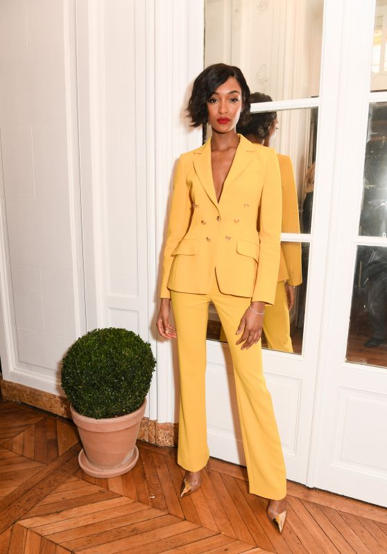 "Jourdan Dunn – CFDA and Vogue Fashion Fund ""Americans in Paris"" Cocktail Party in Paris 09/30/2017"