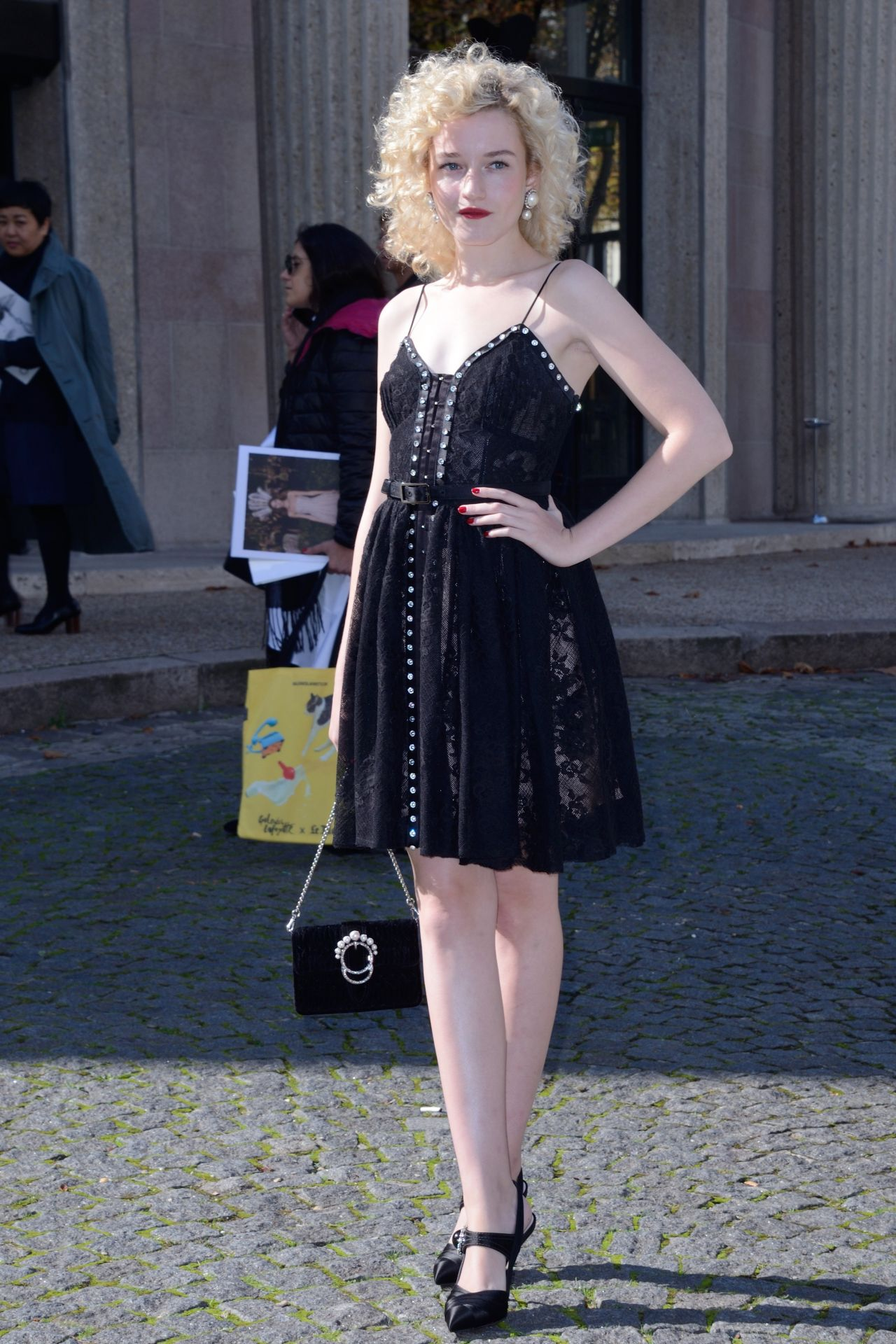 Julia Garner Miu Miu Fashion Show In Paris 10 03 2017