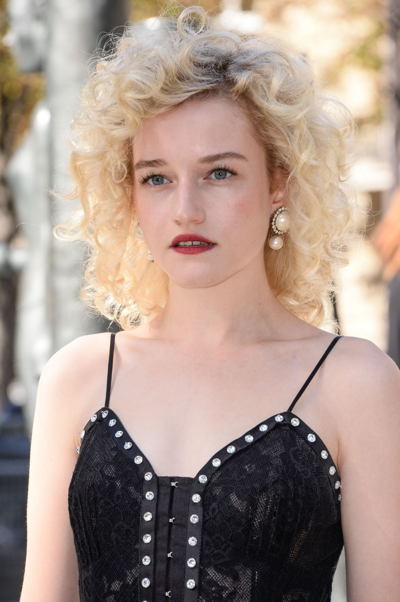 Julia Garner: Miu Miu Fashion Show In Paris 10/03/2017