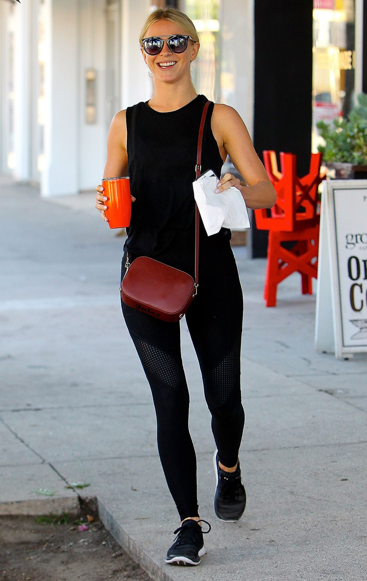 Julianne Hough at Alfred Coffee in West Hollywood 10/10/2017