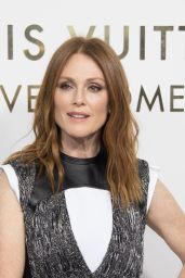 Julianne Moore – Louis Vuitton Boutique Opening in Paris 10/02/2017