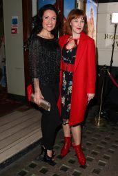 "Kacey Ainsworth – ""Annie"" Press Night in London 10/02/2017"